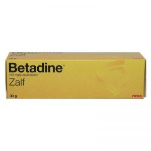 Betadine zalf tube