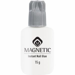 Magnetic instant nail glue