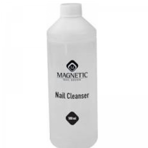 Magnetic nail cleanser