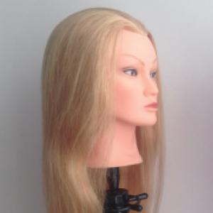 oefenkop lilly  blond 40 cm asia haar