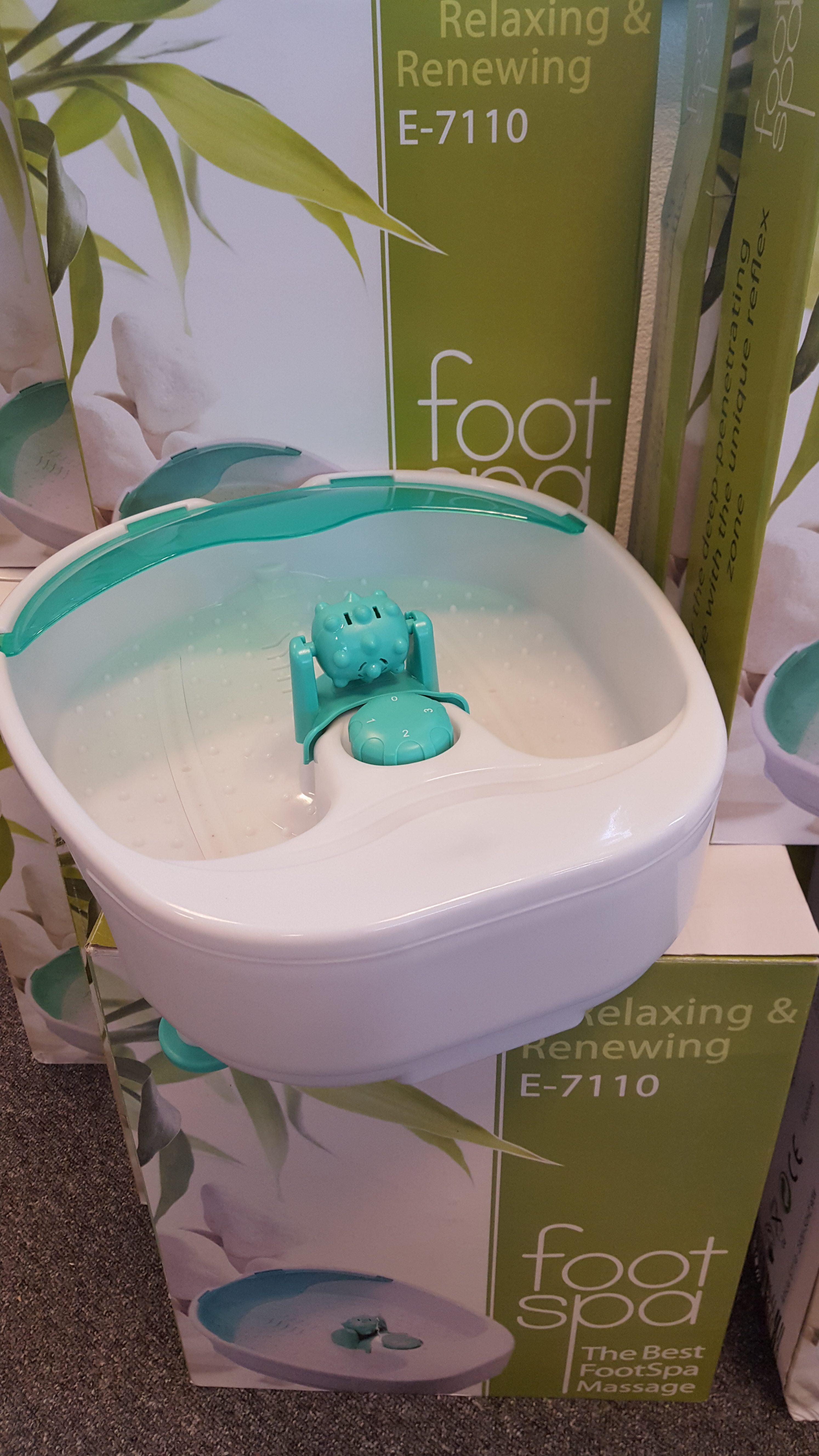 MAX9 Massage foot spa bad met verwarming